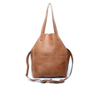 16963db2eaac0 Austraalia camelowa duża skórzana torba -